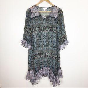 Sun & Shadow Dress Tunic Boho Nordstrom